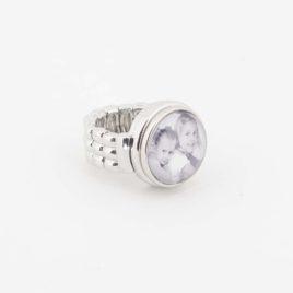 Verstelbare Ring maat S met foto drukker