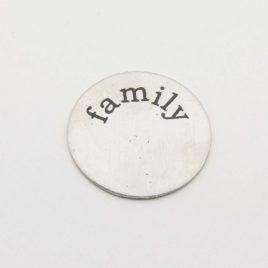 Wensmunt family voor 30mm medaillon