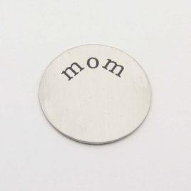 Wensmunt mom voor 30mm medaillon