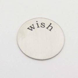 Wensmunt wish voor 30mm medaillon