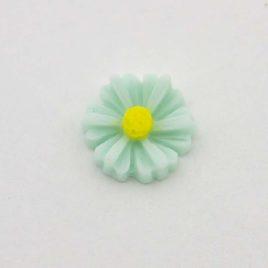 Zwevende bedel bloem blauw