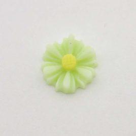 Zwevende bedel bloem groen