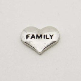 Zwevende bedel hartje family