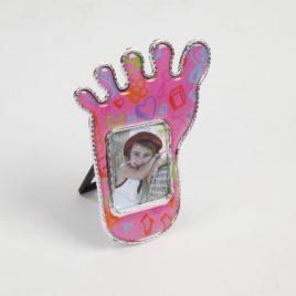 Fotolijstje voetje roze