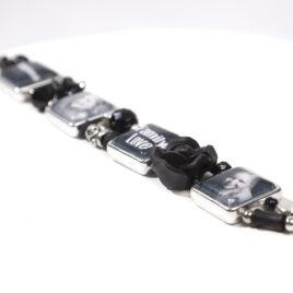 Kralen Foto Armband Zwart 02