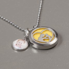 Aroma Therapie Medaillon Ketting Ouder & Kind