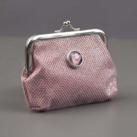 Foto Portemonnee met 1 drukker – Roze