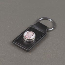 Foto sleutelhanger zwart